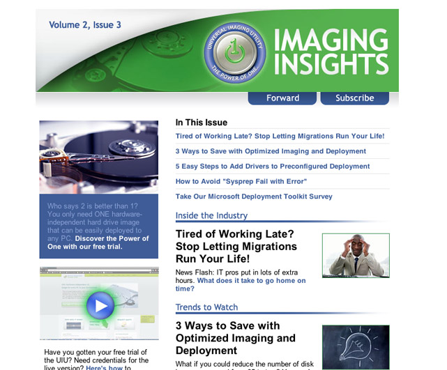 Big Bang Imaging Insights