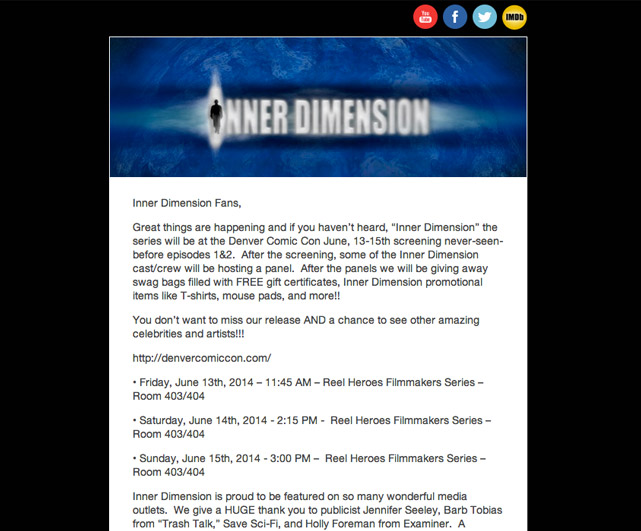 Inner Dimension Email