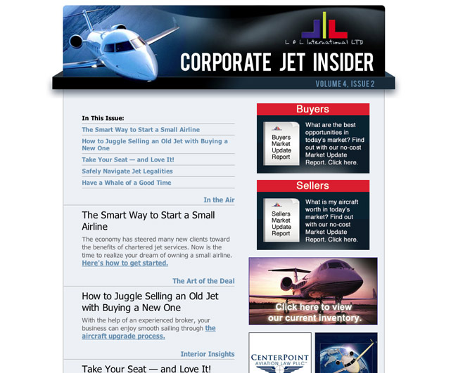 L&L International Corporate Jet Insider