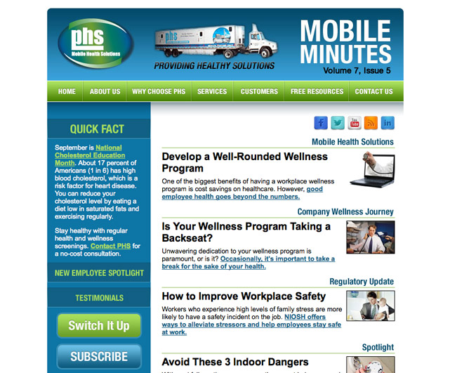 PHS Mobile Minutes