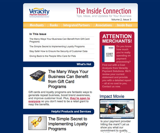 Veracity Payment Solutions The Inside Connection