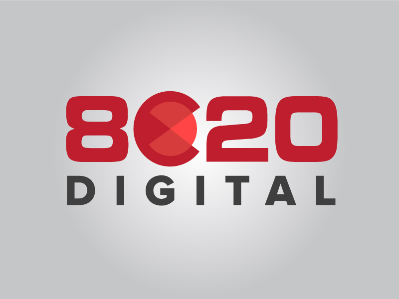 8020 Digital Logo
