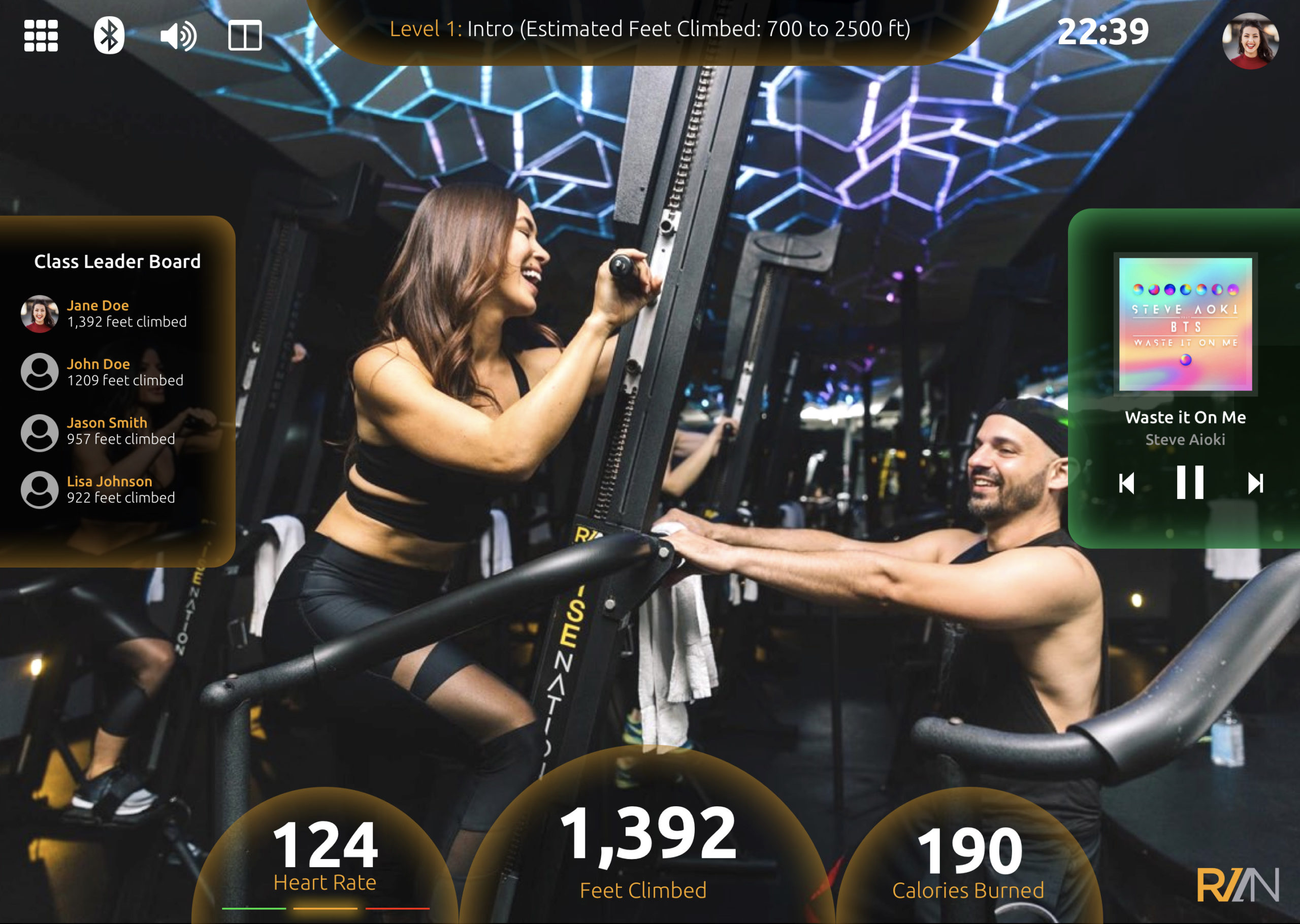 Group Fitness App